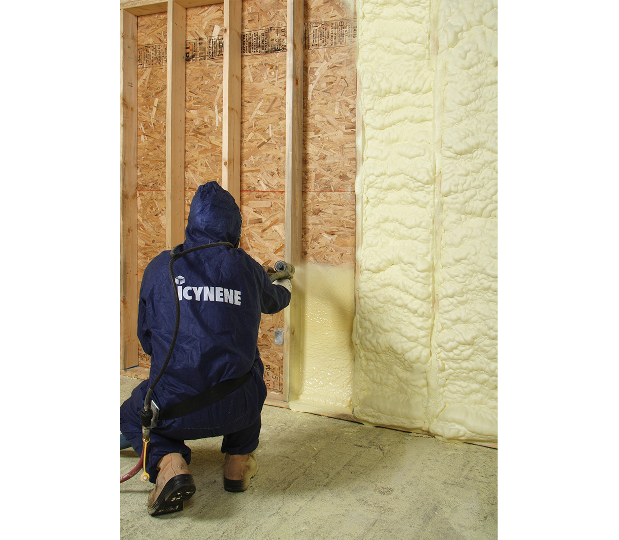 spray foam technican